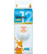 Whito подгузники ночные на 12 часов, M, #3, 6-11 кг, 48шт (27703)