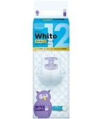 Whito подгузники ночные на 12 часов, L, #4, 9-14 кг, 40шт (17704)