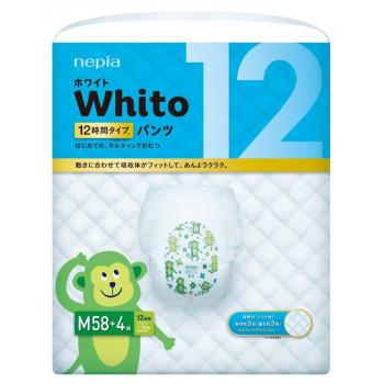 Whito трусики ночные на 12 часов, M, #3, 7-10 кг, 58шт (77708)