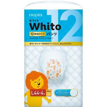 Whito трусики ночные на 12 часов, L, #4, 9-14 кг, 44шт (87707)