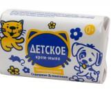 Детское крем-мыло, гипоаллергенно, Д-пантенол, 90гр (13433)