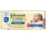 Johnsons baby детские влажные салфетки, от макушки до пяточек, 56шт (69474)