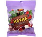 Маяма жевательный мармелад с начинкой, со вкусом малины и черники, 70гр (07321)