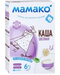 Мамако каша на козьем молоке, овсяная, 6+ месяцев, 200гр (90019)