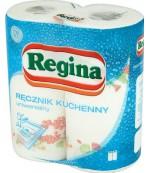Regina универсальные кухонные полотенца, 2 рулона, 2 слоя, 46 отрывов в рулоне (07450)