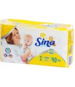 Sina Mini #2 подгузники, 3-6кг, 40шт (90514)