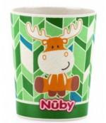 Nuby бамбуковая Чашка из биоматериала, 9+ месяцев, 240мл, 1шт (55029)