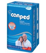 Canped подгузники для взрослых, #L, 100-150см, 9 капель, 7шт (10103)
