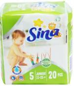 Sina Junior #5 подгузники, 11-25кг, 20шт (90545)