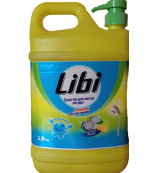 Libi средство для мытья посуды, лимон, 1,8л (30450)