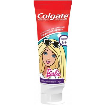 Colgate детская зубная паста, Barbie, 75мл (15360)