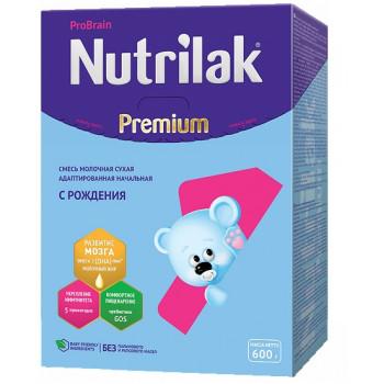 Nutrilak Premium сухая молочная смесь #1, с 0-6 меяцев, 600гр (20434)
