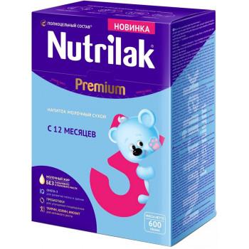 Nutrilak Premium сухая молочная смесь #3, с 12 месяцев, 600гр (20458)