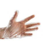 Полиэтиленовые одноразовые перчатки, размер  L, 50 пар, 100шт (05553)