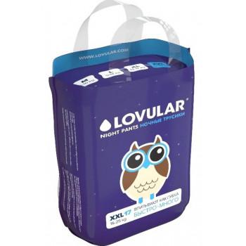 Lovular ночные трусики-подгузники #6 XXL, 15-25кг, 17шт (90557)