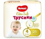 Huggies Elite Soft #4 трусики-подгузники, 9-14кг, 21шт (46971)