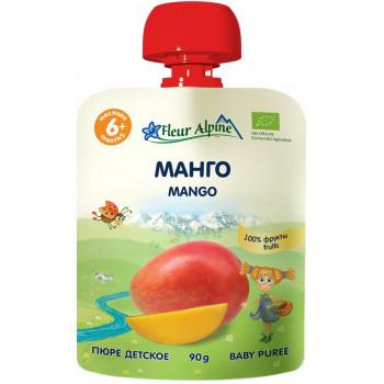 Fleur Alpine пюре сашет, манго, с 6 месяцев, 90гр (01123)
