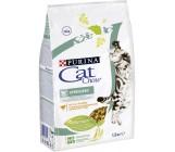 Cat Chow Sterilised сухой полнорационный корм для взрослых стерилизованных кошек и котов, с домашней птицей, 1,5кг (44424)