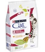 Cat Chow Urinary tract health сухой полнорационный корм для поддержания здоровья мочевыводящих путей взрослых кошек,  с домашней птицей, 1,5кг (44400)