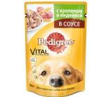 Pedigree консервированный корм для взрослых собак всех пород, с кроликом и индейкой в соусе, 100гр (50904)