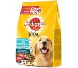 Pedigree Vital protection сухой полнорационный корм для взрослых собак всех пород, с говядиной, 600гр (02503)