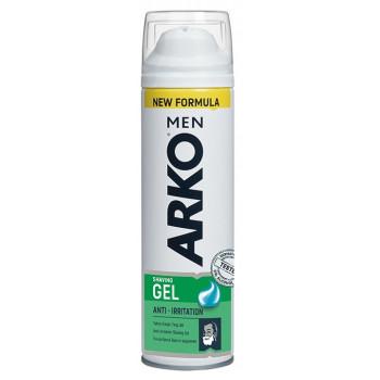Arko Men гель для бритья, защита от раздражения кожи,  Anti-irritation, 200мл (77264)
