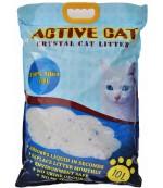 Active Cat силикагелевый гигиенический наполнитель для кошачьих туалетов, без запаха, 10л (00080)
