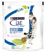 Cat Chow 3 в 1 сухой полнорационный корм для взрослых кошек, с формулой тройного действия, с домашней птицей и с индейкой, 400гр (57104)