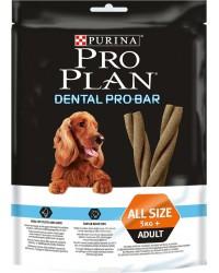 Pro Plan Dental Pro-Bar сухой корм снеки для взрослых собак, лакомство для поддержания здоровья полости рта, в упаковке 5шт, 150гр (46442)