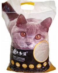 Mcat наполнитель для кошачьих туалетов, бентонит, комкующийся, 5кг (00103)
