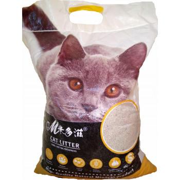 Mcat наполнитель для кошачьих туалетов, комкующийся, 5кг (00103)