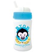 Cuipo B.Y.O.B прогулочная чашка с соломкой, синяя, 6+ месяцев, 340мл (42094)