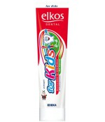 Elkos детская зубная паста, c ароматом клубники, от 0-6 лет, 100мл (53032)