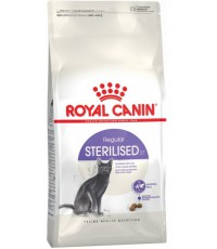 Royal  Canin Sterilised 37 сухой полнорационный сбалансированный корм для взрослых стерилизованных кошек, 2кг (37593)
