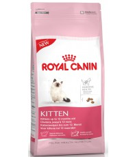 Royal Canin Kitten сухой полнорационный сбалансированный корм для котят, для поддержания здоровья пищеварения, 2кг (02423)