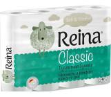 Reina Classic туалетная бумага, 12 рулонов, 2 слоя, 18м в рулоне (00107)