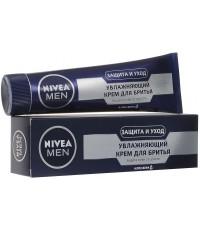 Nivea Men увлажняющий крем для бритья, защита кожи от сухости, с алоэ вера, 100мл (69048)