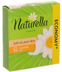 Naturella Camomile Normal ежедневные прокладки, с ромашкой, 2 капли, 52шт (04040)