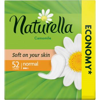 Naturella normal ежедневные прокладки, ромашка, 2 капли, 52шт (04040)