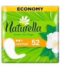 Naturella Green Tea Magic Normal ежедневные прокладки, с ароматом зеленого чая, 2 капли, 52шт (03883)