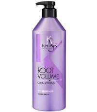 Kerasys Root Volume шампунь для волос, придает объем у корней, 600мл (77065)