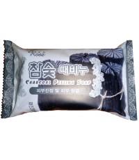 Rose Charcoal Peeling Soap мыло-пилинг, с древесным углем, 150гр (41108)
