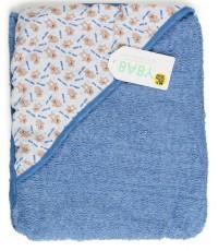 Baby Teddy Bear детское полотенце, с капюшоном, 1шт (22058)