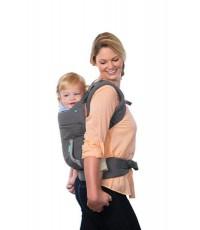 Infantino Cuddle up ergonomic hoodie carrier кенгуру для переноски ребенка, с капюшоном, 5.4-18.1кг, 1шт (01921)
