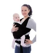 KeaBabies Wrap слинг-шарф 4 в 1, черный, 0-36 месяцев, 2.2-15кг, 1шт (RKBQF)