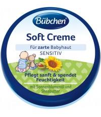 Bubchen Soft Creme нежный увлажняющий крем для лица и тела малыша, для чувствительной кожи, с подсолнечным маслом и карите, 20мл (52052)