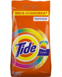 Tide Color стиральный порошок автомат, для цветного белья, 9кг (54693)