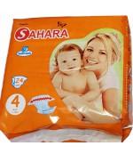 Sahara Maxi #4 подгузники, 7-18кг, 24шт (50147)