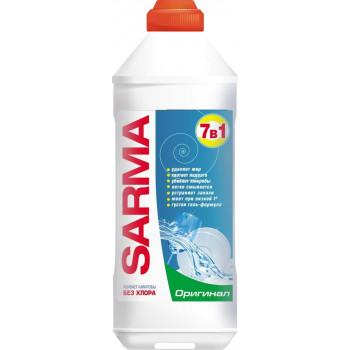 Sarma гелеобразное средство для мытья посуды 7 в 1, Оригинал, 500мл (60620)