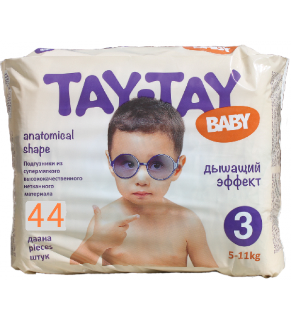 Tay-Tay Baby подгузники  3, 5-11 кг, 44шт (90241) купить в Бишкеке и ... 44cb94704fe